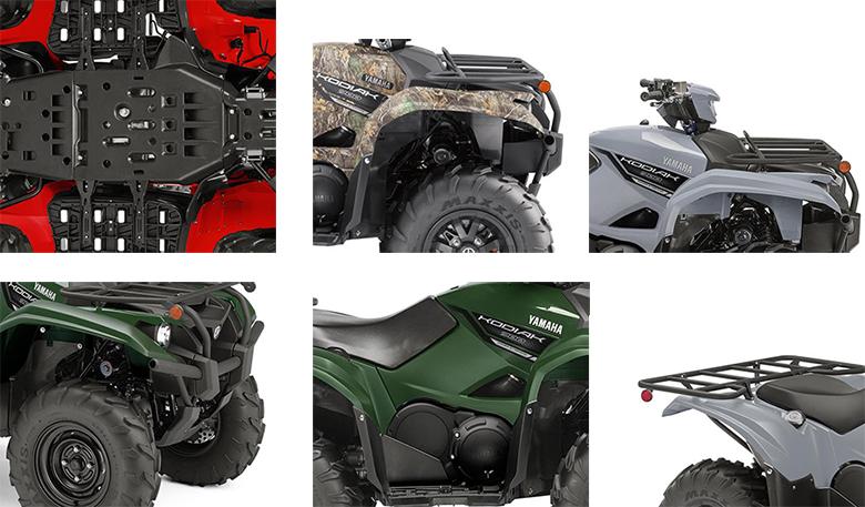 2019 Yamaha Kodiak 700 EPS Utility Quad Bike Specs
