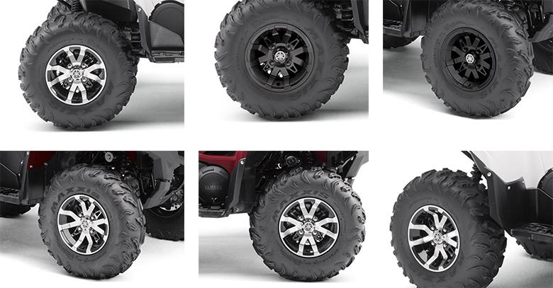 Grizzly EPS 2019 Yamaha Utility ATV Specs