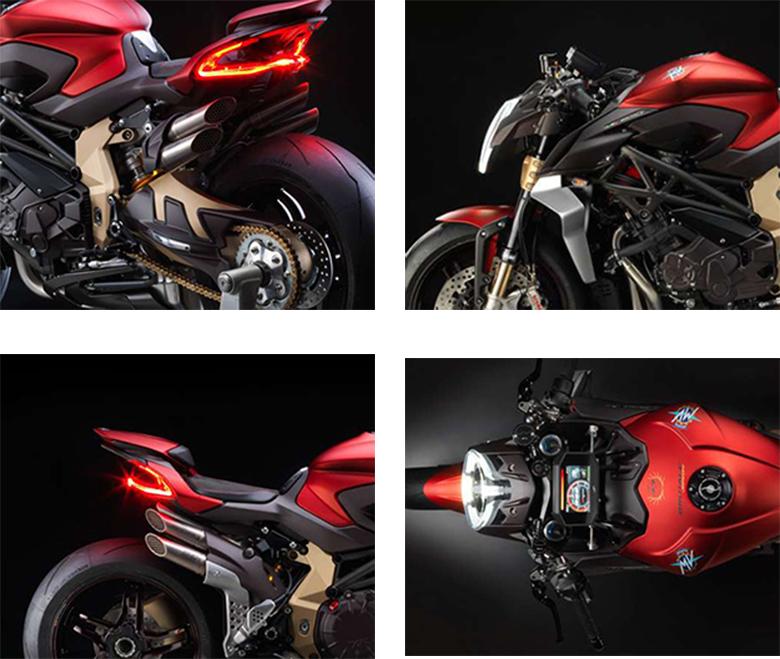 MV Agusta 2019 Brutale 1000 Serie Oro Naked Bike Specs