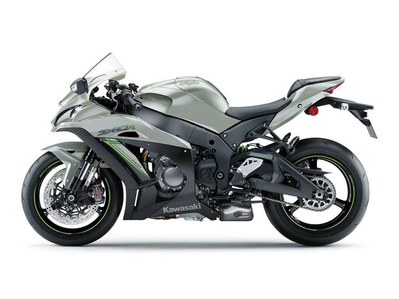 Ninja ZX-10R 2018 Kawasaki Powerful Heavy Bike