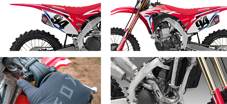 Honda 2019 CRF450RWE Powerful Dirt Motorcycle Specs