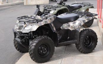 KingQuad Suzuki 2019 400ASi Camo Utility ATV