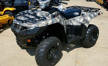 Suzuki 2019 KingQuad 500AXi Power Steering Camo Utility ATV