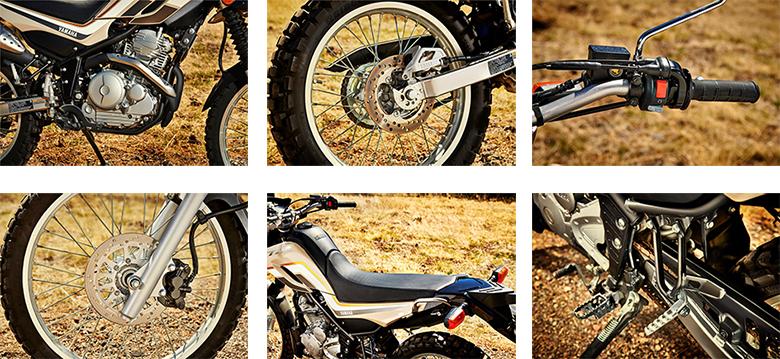 XT250 2019 Yamaha Dual Sports Motorcycle Specs
