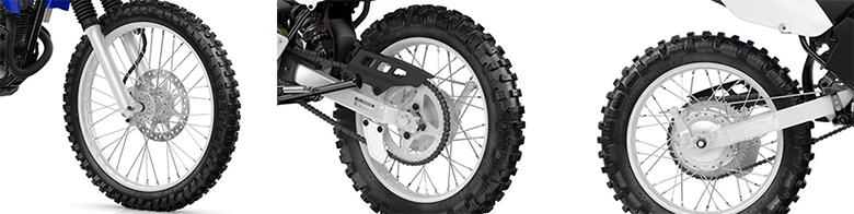 Yamaha 2019 TT-R125LE Dirt Motorcycle Specs