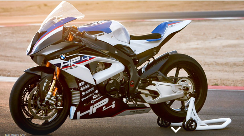 2019 HP4 Race BMW Sport Bike Review Specs Price