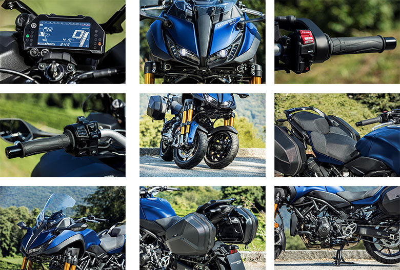 2019 Niken GT Yamaha Sports Tourer Specs