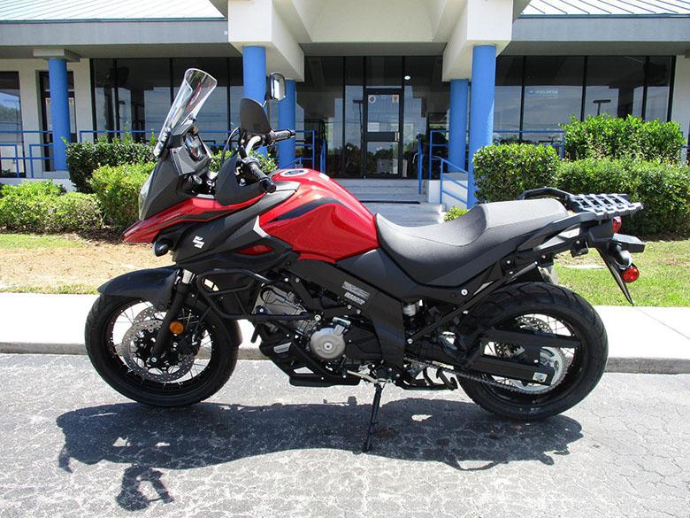 2019 Suzuki V-Strom 650XT Touring Motorcycle