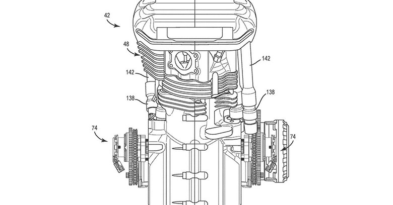 Harley-Davidson is Developing V-Twin Engine with Variable Valve Timing