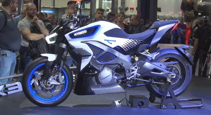 Kymco Patents Its New Production RevoNEX Electric Motorcycle