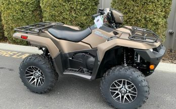 Suzuki 2019 KingQuad 500AXi Power Steering SE+ Utility ATV