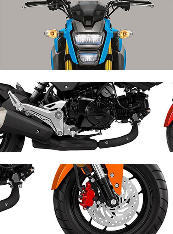 2019 Honda Grom MiniMoto Bike Specs