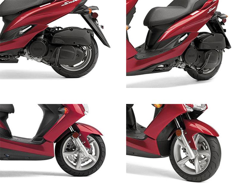 2019 SMAX Yamaha Scooter Specs
