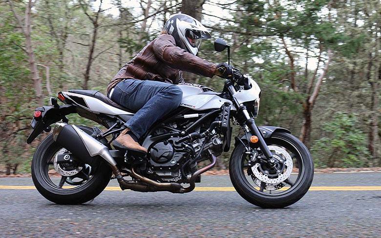 2019 SV650X Suzuki Street Motorcycle