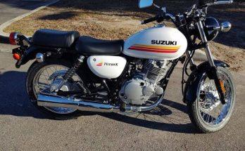 2019 TU250X Suzuki Urban Motorcycle