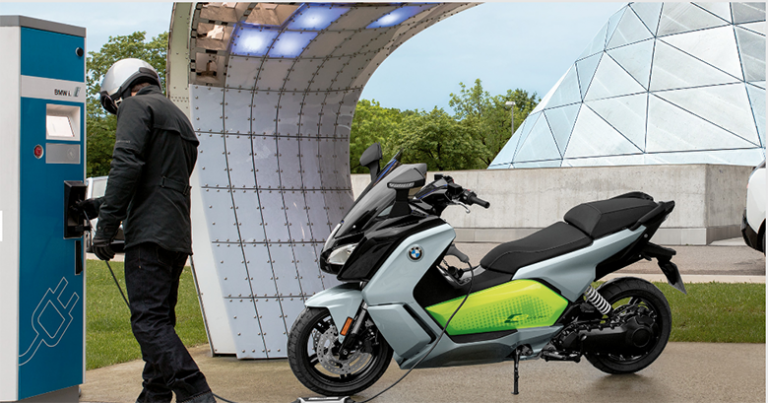 BMW 2019 C Evolution City Scooter Review Specs Price