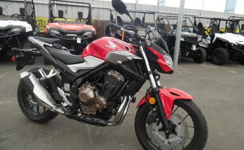 Honda 2019 CB500F ABS Sports Motorcycle