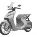 Honda Patents Futuristic Looking Moped