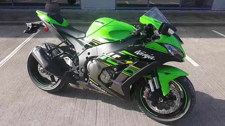 Kawasaki Ninja ZX-10R KRT 2018 Sports Bike