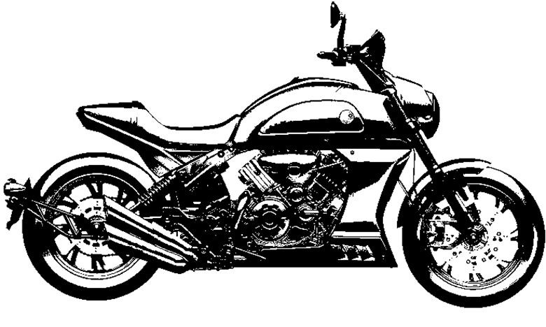 New Motrac 900 V-Twin Spied in Patents