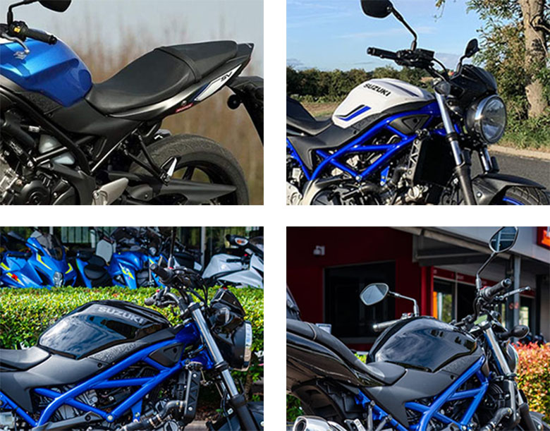 Suzuki 2019 SV650 Urban Motorcycle Specs