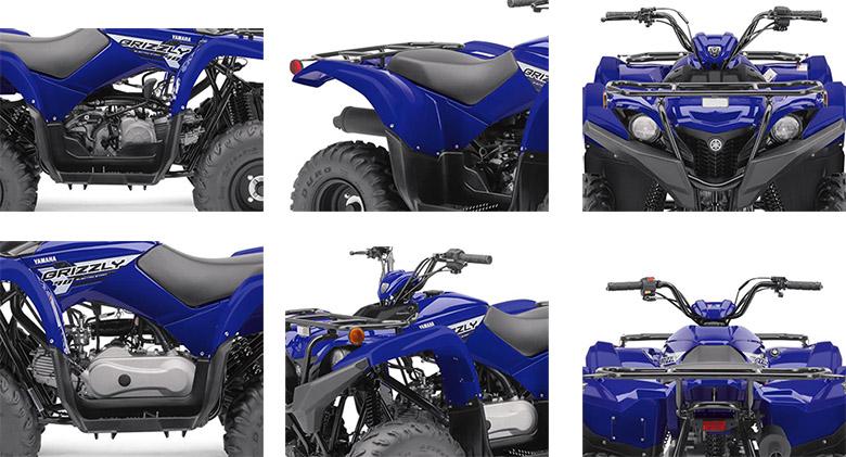 Yamaha 2020 Grizzly 90 Utility ATV Specs