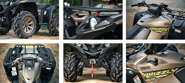 Yamaha 2020 Grizzly EPS XT-R Utility ATV Specs