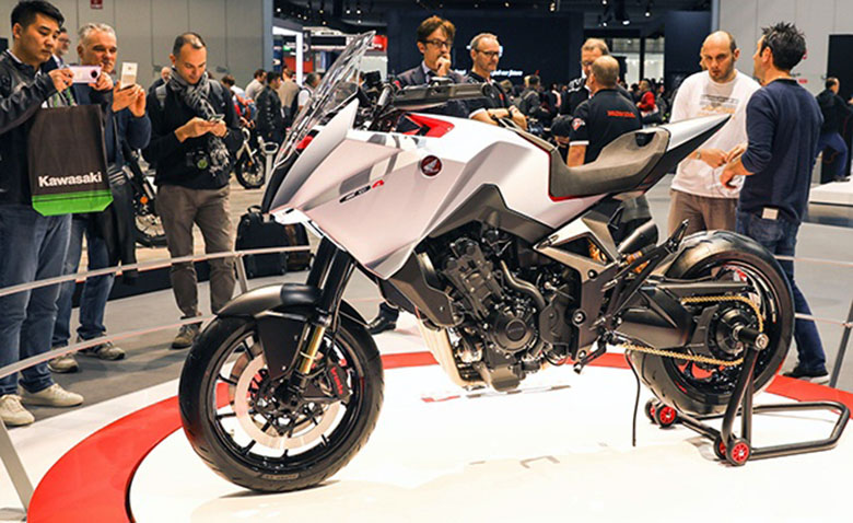 2020 Honda CB4X Concept Motorcycle Review