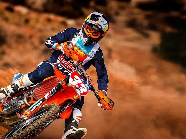 2020 KTM 450 XC-F Dirt Motorcycle