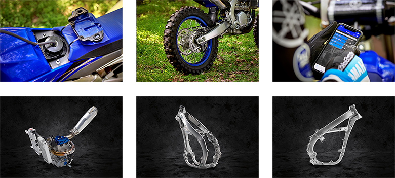 2020 Yamaha YZ250FX Off-Road Motorcycle Specs