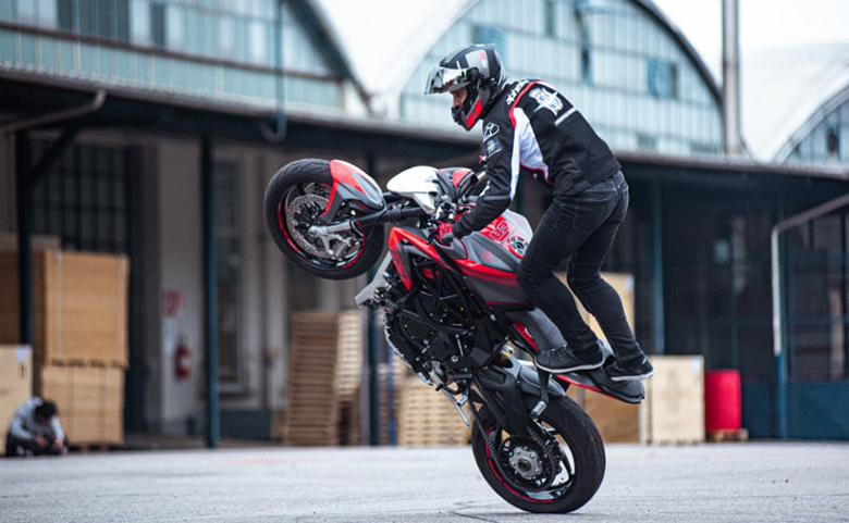MV Agusta Signs Famous Freestyle Stunter Thibaut Nogues