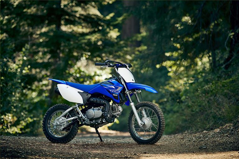 Yamaha 2020 TT-R110E Trail Off-Road Motorcycle Review Price Specs