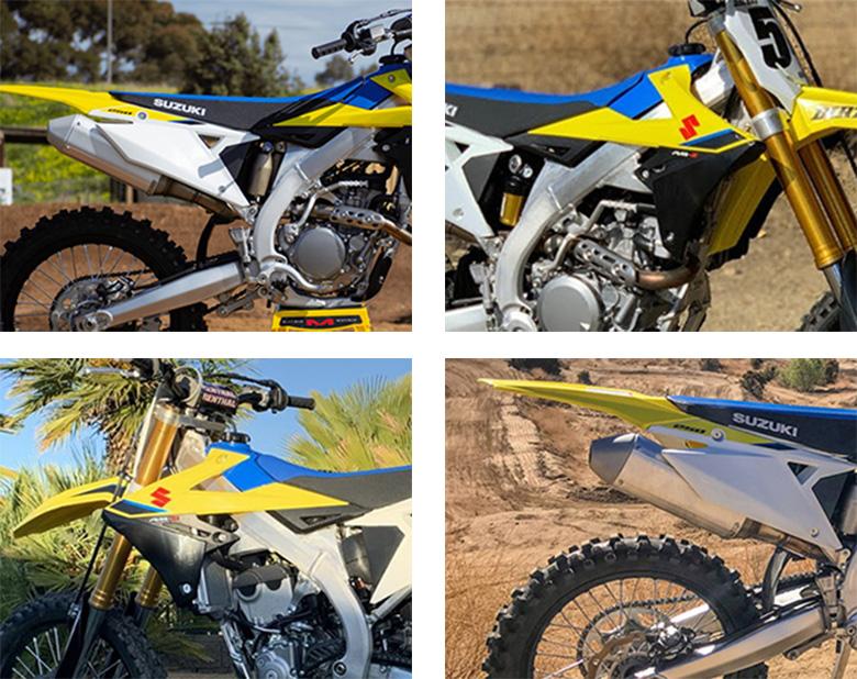 2020 RM-Z250 Suzuki Dirt Motorcycle Specs