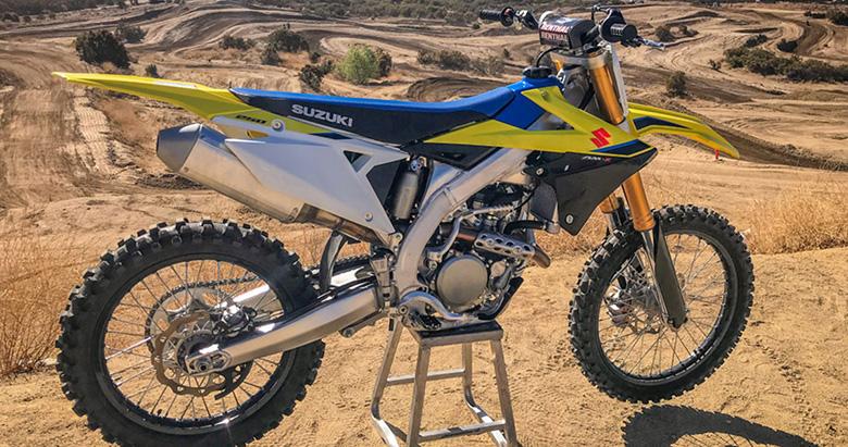 2020 RM-Z250 Suzuki Dirt Motorcycle
