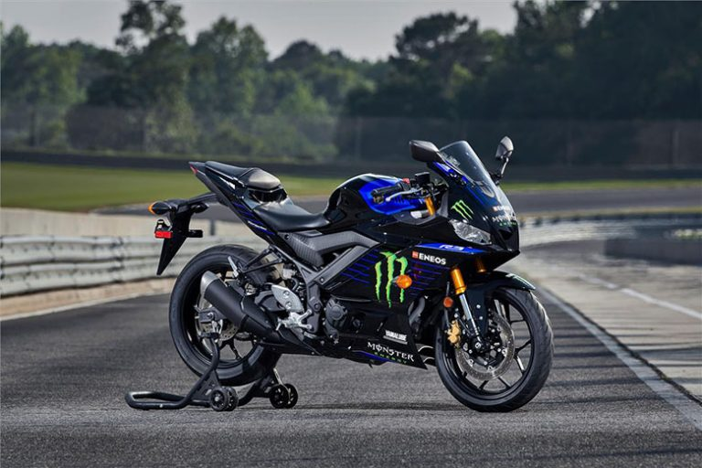 2020 YZF-R3 Monster Energy Yamaha MotoGP Edition Super Bike Review