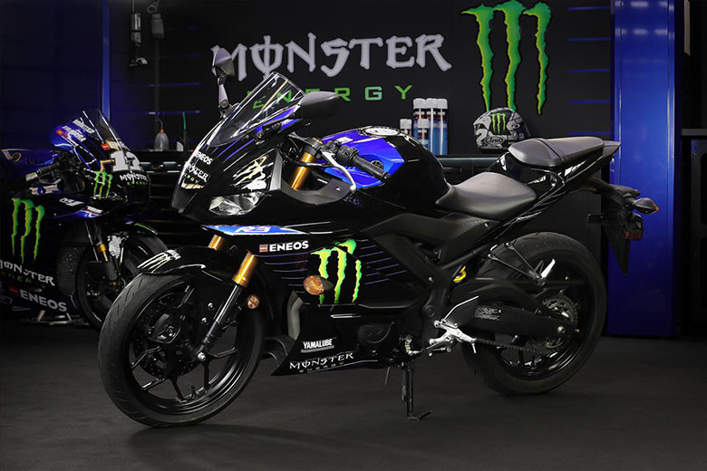 2020 YZF-R3 Monster Energy Yamaha MotoGP Edition Super Bike