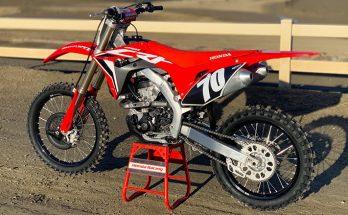 Honda 2020 CRF250RX Powerful Dirt Bike