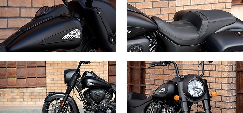 Indian 2020 Springfield Dark Horse Powerful Bagger Bike Specs