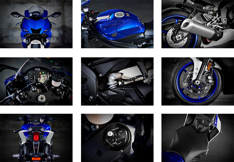 YZF-R6 Yamaha Super Sports Motorcycle Specs