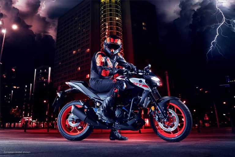 Yamaha 2020 MT-03 Naked Motorcycle Review Price Specs