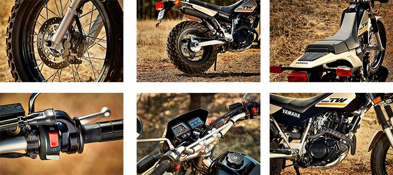 Yamaha 2020 TW200 Dual Sports Motorcycle Specs