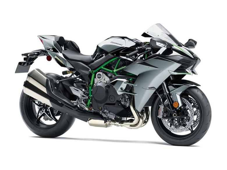 2018 Kawasaki Ninja H2 Powerful Hyper Naked Bike
