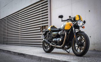 2019 Triumph Street Cup Classics Motorcycle