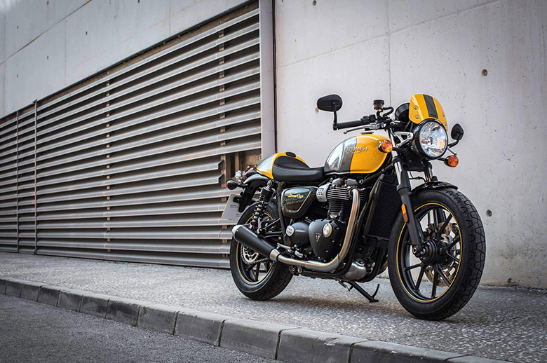 2019 Triumph Street Cup Classics Motorcycle Review Specs Price