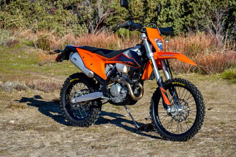 2020 350 EXC-F KTM Dirt Motorcycle Review Specs