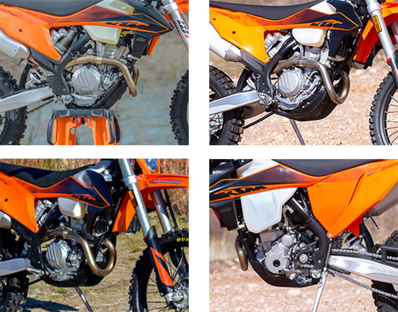 2020 350 EXC-F KTM Dirt Motorcycle Specs