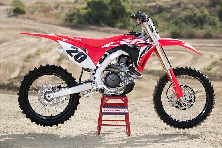 2020 Honda CRF450R Dirt Motorcycle