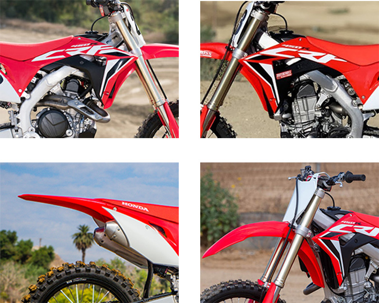 2020 Honda CRF450R Dirt Motorcycle Specs