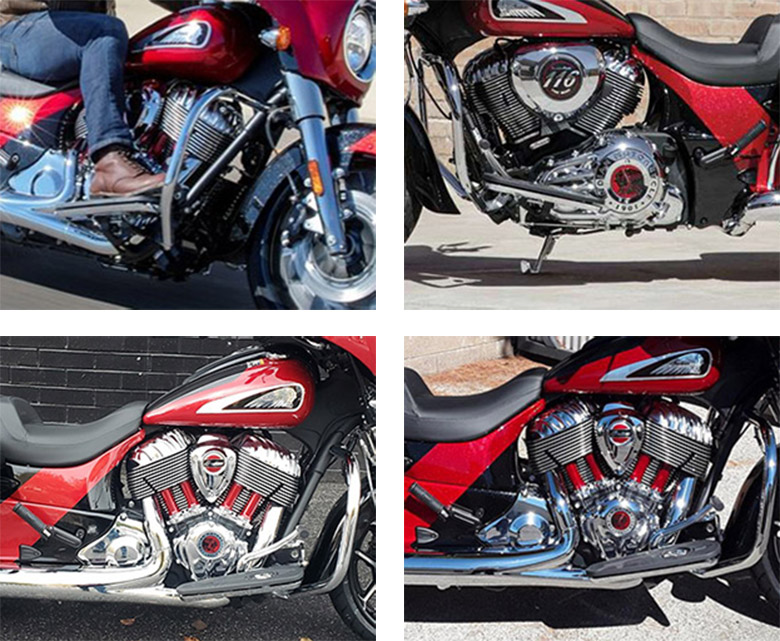 2020 Indian Chieftain Elite Touring Motorcycle Specs