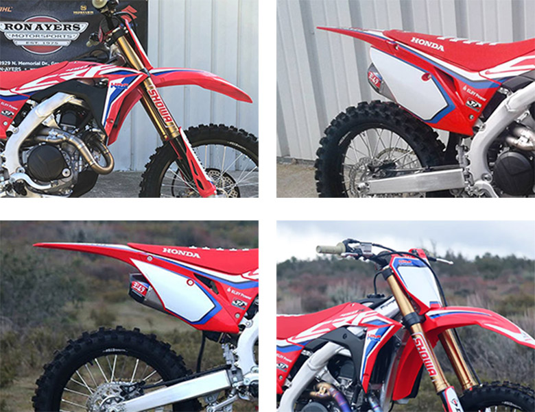 CRF450RWE 2020 Honda Powerful Dirt Bike Specs